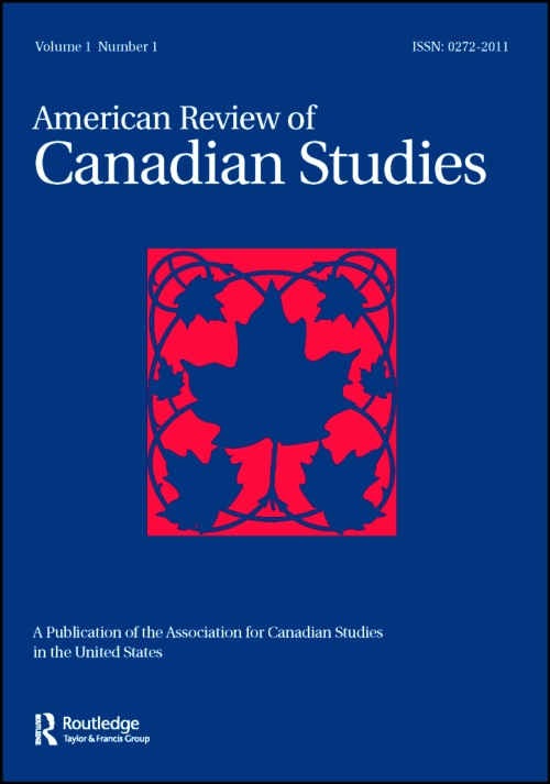 Managing Editor for the Journal of American Reivew of Canadian Studies