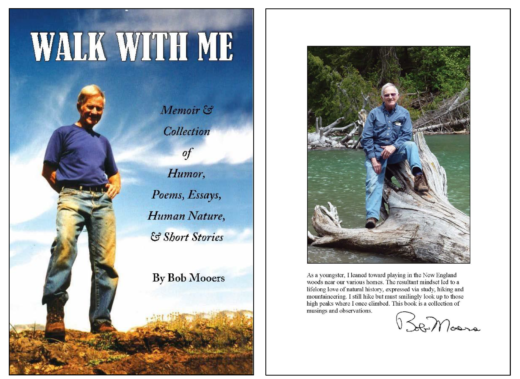 Walk with Me by Bob Mooers Cover and back